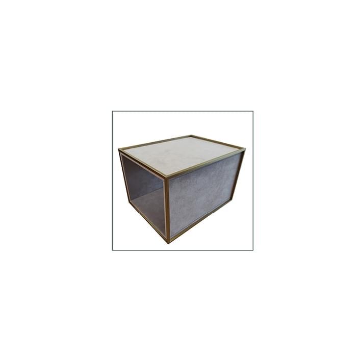 Vitrines pour bijouteries - base geneve rivestita 4 lati