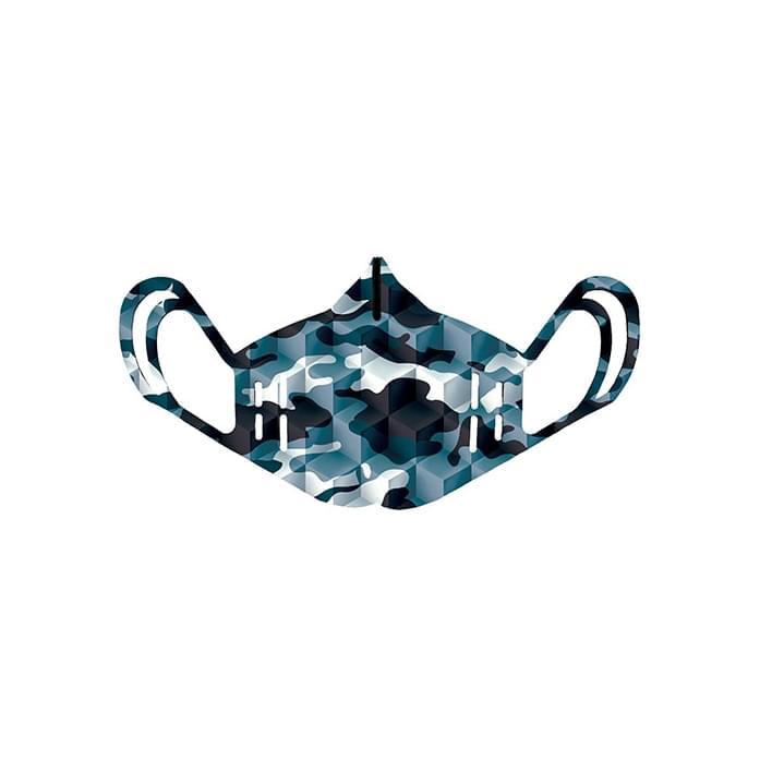 MONDO BLISTER IN LYCRA - MIMETIC BLUE