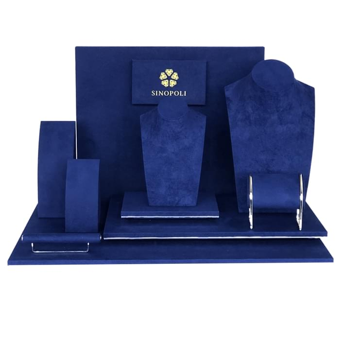 Set de prèsentoires pour bijouteries - sinopoli blu